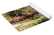 Old Mill And Waterfall Yoga Mat