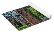 Old Queens Entrance Gate Yoga Mat