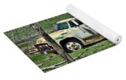 Old Truck At Rest Yoga Mat