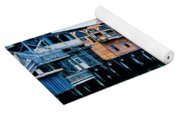 Buildings On The Water  Yoga Mat