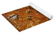 Orange Canopy - Davidson College Yoga Mat