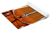 Orange Terraplane Yoga Mat