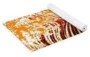 Orange Zest Yoga Mat