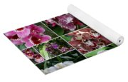 Orchid Collage 1 Yoga Mat