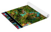 Oregon Cascades Nasa Satellite Yoga Mat