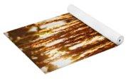 Ornamental Golden Grass Yoga Mat