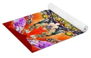 Painted Lotus Xvii Yoga Mat