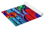 Painted Table Yoga Mat