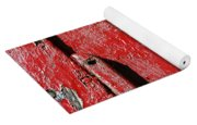 Painting It Red Yoga Mat