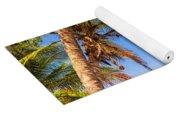 Palm Tree And Caribbean Yoga Mat