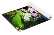 Cup Of Pansies Yoga Mat