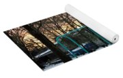 Park In Winter Yoga Mat