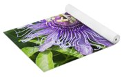 Passion Flowers Yoga Mat