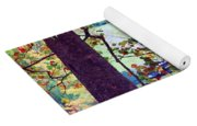 Patches Of Color Yoga Mat
