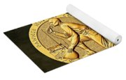 Pawnee Nation Tribe Code Talkers Bronze Medal Art Yoga Mat