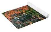 Peaceful Autumn Day Yoga Mat