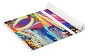 Phish New York For New Years Triptych Yoga Mat