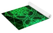 Photon Interference Fractal Yoga Mat