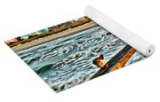 Pier Fishing 2 Yoga Mat