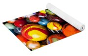 Pile Of Marbles Yoga Mat