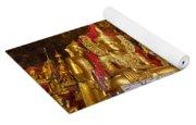 Pindaya Cave With More Than 8000 Buddha Statues Myanmar Yoga Mat