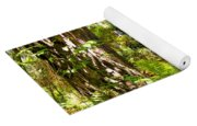 Pine Trees And Ferns Yoga Mat