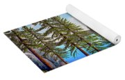 Pine Woods Lake Tahoe Yoga Mat