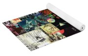 Pink Floyd Collage II Yoga Mat