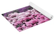 Pink Waves Yoga Mat