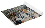 Pissarro's Boulevard Des Italiens In Morning Sunlight Yoga Mat