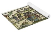 Plague Of London Yoga Mat