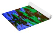 Poolwater Abstract Yoga Mat