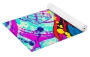 Pop Art Superman Yoga Mat