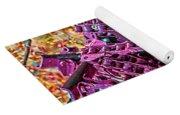 Pop Of Purple Yoga Mat