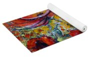 Poppies On Fire Yoga Mat