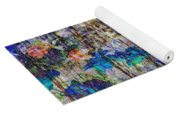 Posies In The Grass Yoga Mat