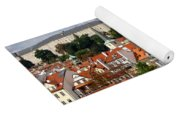 Prague Skyline Yoga Mat