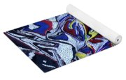 Primary Abstract Yoga Mat