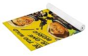 Pug Art - Abbott And Costello Go To Mars Yoga Mat