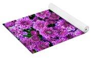 Purple Blanket Yoga Mat