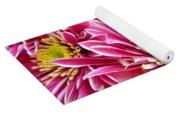 Purple Chrysanthemum Yoga Mat