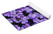 Purple Rockcress Yoga Mat