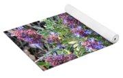 Purple Sage Collage Yoga Mat