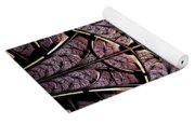 Purple Shield Yoga Mat
