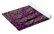 Purple Trees Yoga Mat