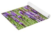 Purple Wild Flowers3 Yoga Mat