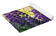 Purple Wildlfowers Yoga Mat