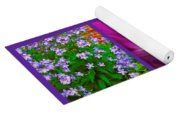 Purple Window Yoga Mat