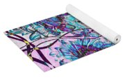 Quatro Floral - 11ac04 Yoga Mat