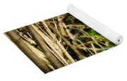 Rabbit In The Woods Yoga Mat